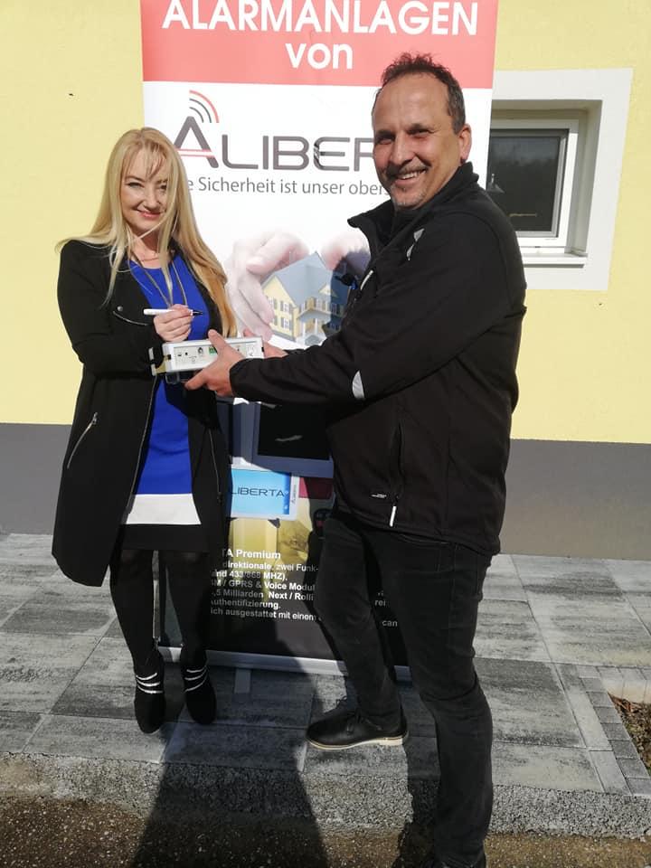 Aliberta Verkauf an Schlagerstar Styrina 2019